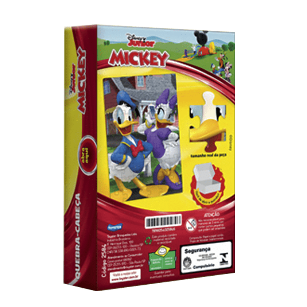 Quebra-cabeça 60 peças Turma do Mickey Jak