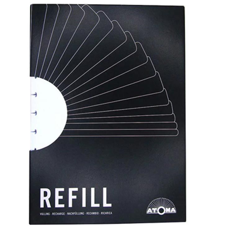 Refil em branco A4 60 fls Atoma