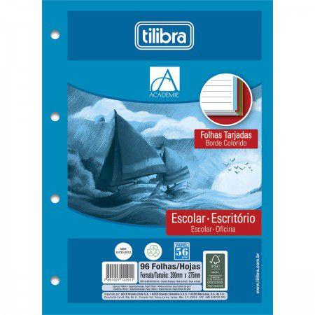 Refil pautado 96 fls Tiliflex Tilibra