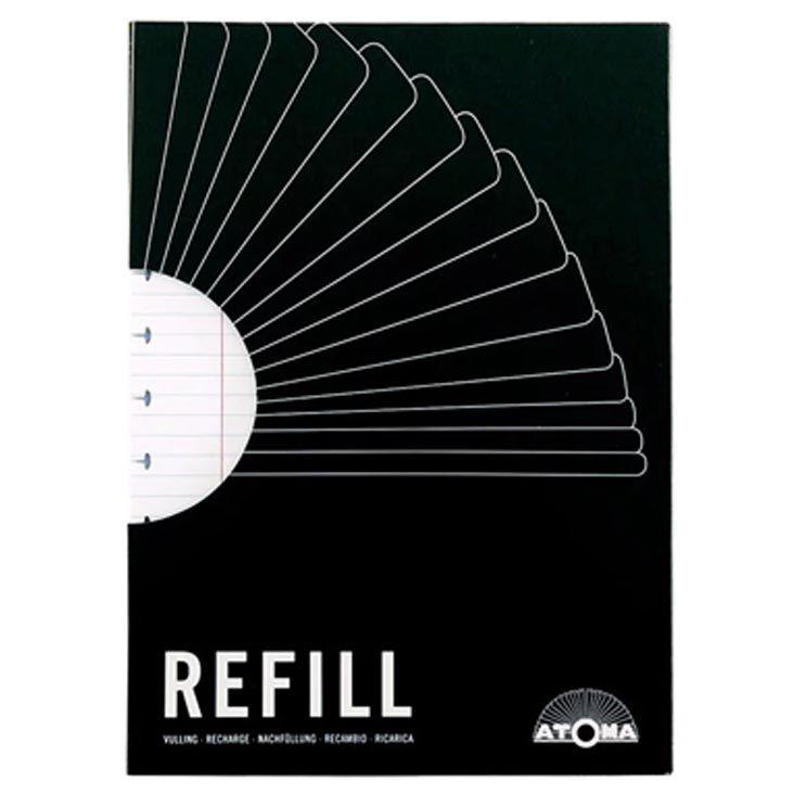 Refil pautado A4 60 fls Atoma