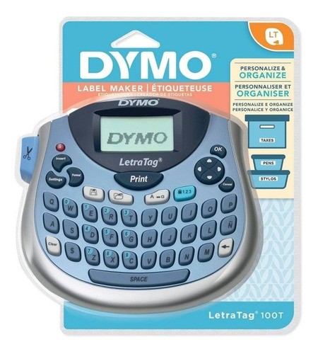 Rotuladora eletrônica azul LT-100T Dymo