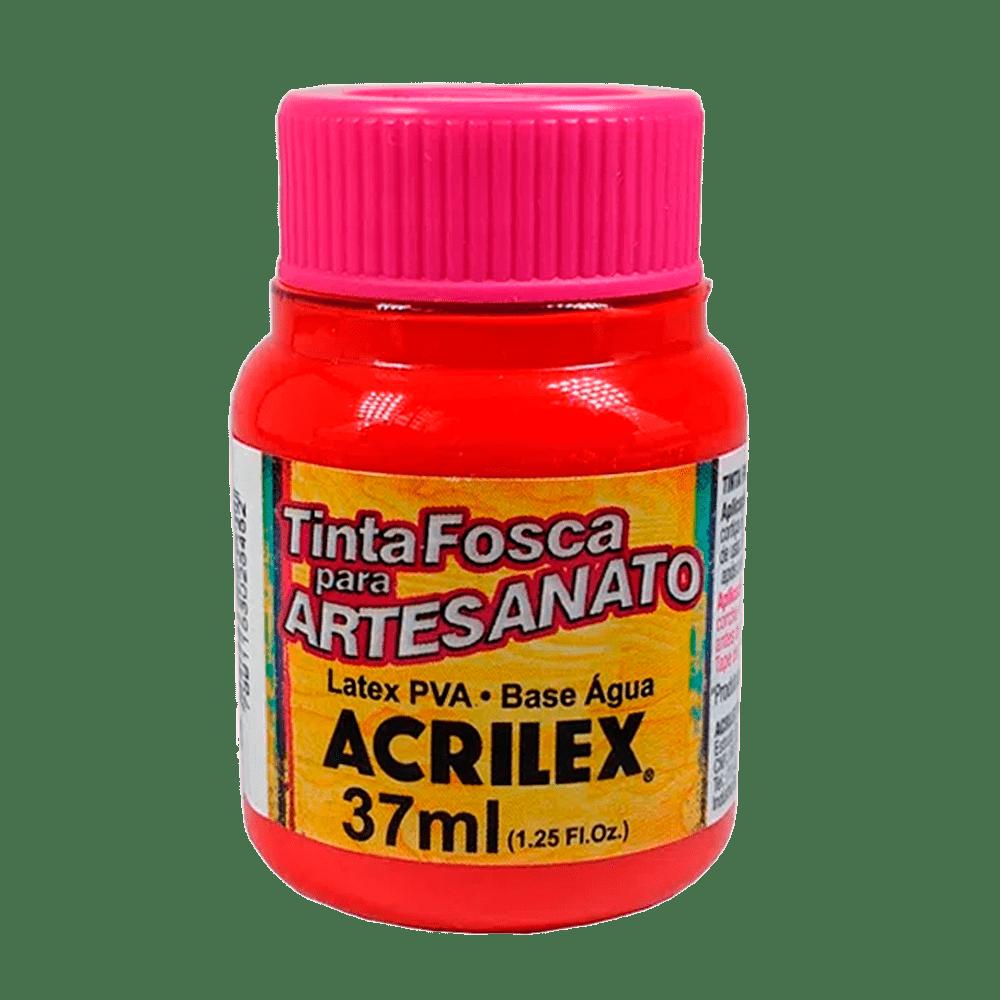 Tinta artesanato 37ml vermelho vivo Acrilex