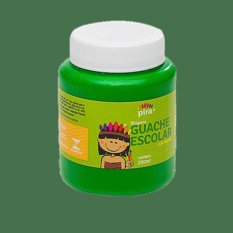 Tinta guache 250 ml verde Piratininga