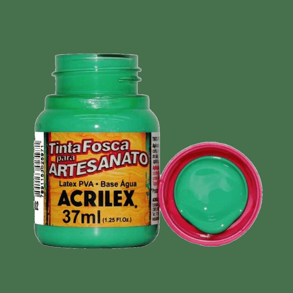 Tinta artesanato 37ml verde country Acrilex