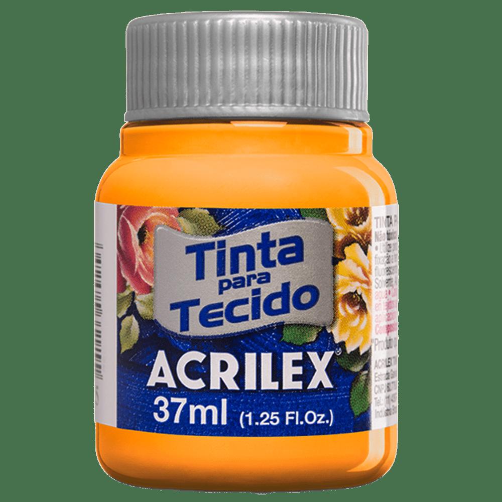 Tinta tecido 37ml amarelo cadmio Acrilex