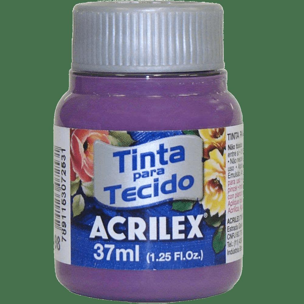 Tinta tecido 37ml amora Acrilex