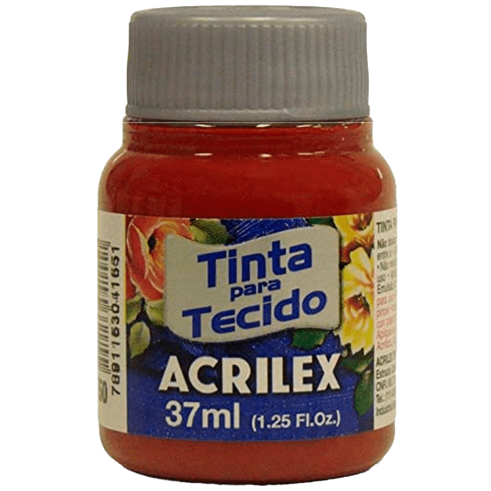 Tinta tecido 37ml purpura Acrilex
