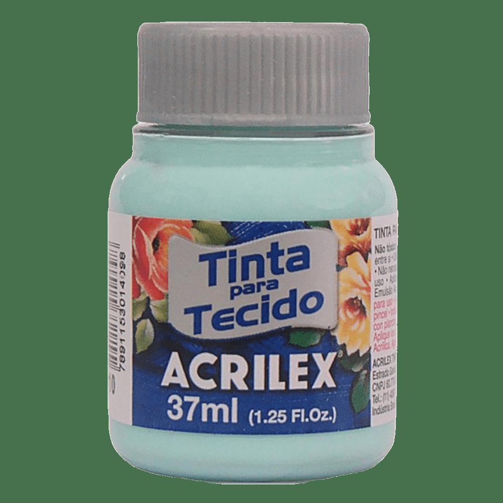 Tinta tecido 37ml verde bebê Acrilex