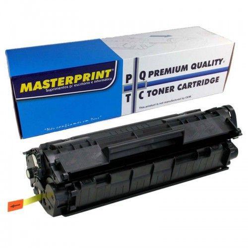 Toner CF283A preto 85g Masterprint