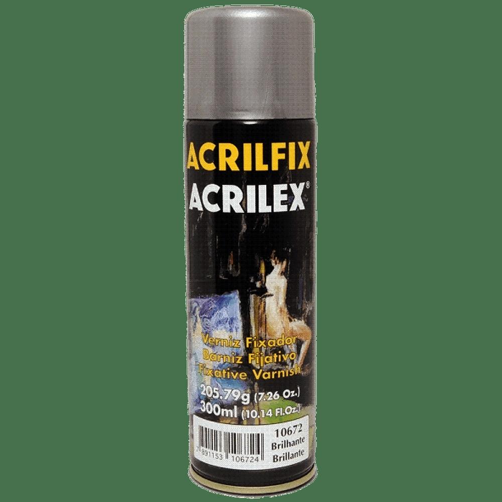 Verniz spray fixador 300ml brilhante Acrilex