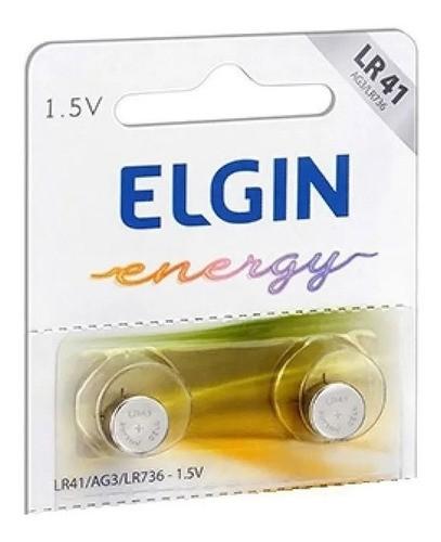 100pcs Bateria Lr41 Ag3 Lr736 Elgin Pilha Alcalina Original