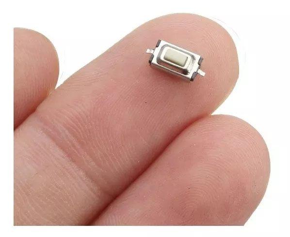 100pcs Botao Interruptor Smd Tactil Chave Controle Led