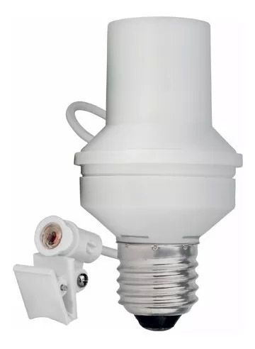 100pcs Soquete Sensor Fotocelula Rele Iluminacao E27 Coruja