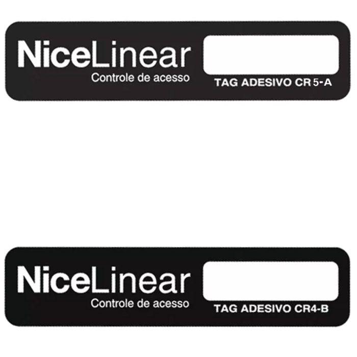 100pcs Tag Linear Original Adesivo Cr4 5 Etiqueta Sem Parar