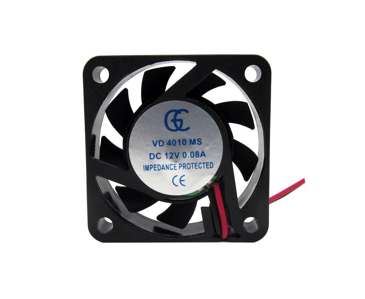100pcs Ventilador Cooler Ventuinha Gc 40x40x10mm 12v Fan Nova Qualidade Nota Fiscal