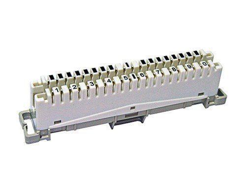10pcs Bloco Tipo Bargoa M10 Telefonia E Interfonia Predial