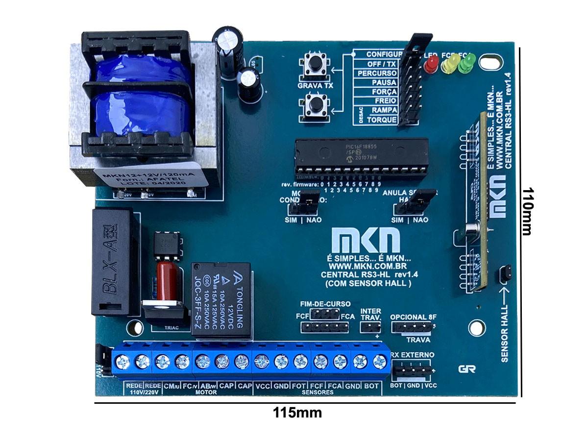 10pcs Central Placa Portao Rossi Compativel Kx30 Kxhi30 Mkn