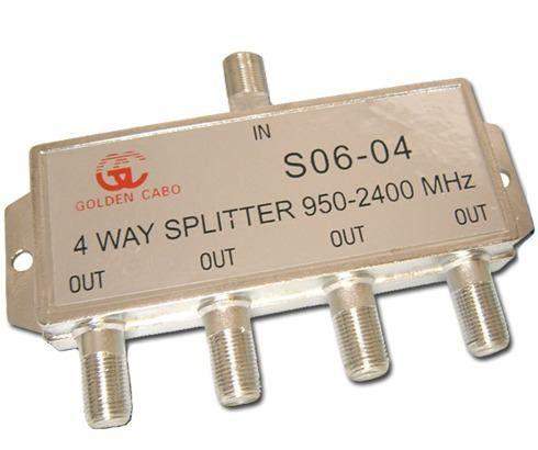 10pcs Divisor Sinal Satelite De Alta 1x4 950 A 2400mhz