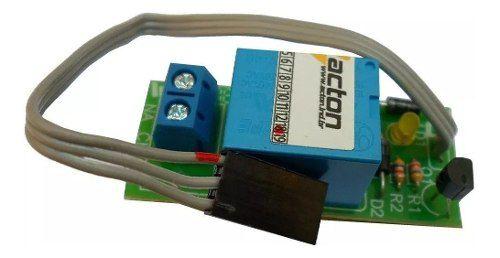 10pcs Modulo Acton Trava Elétrica Sinaleiro Motor Portão