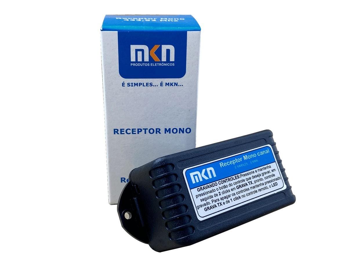 10pcs Receptor Alarme Portao Fechadura Mkn 433mhz 682 Tx