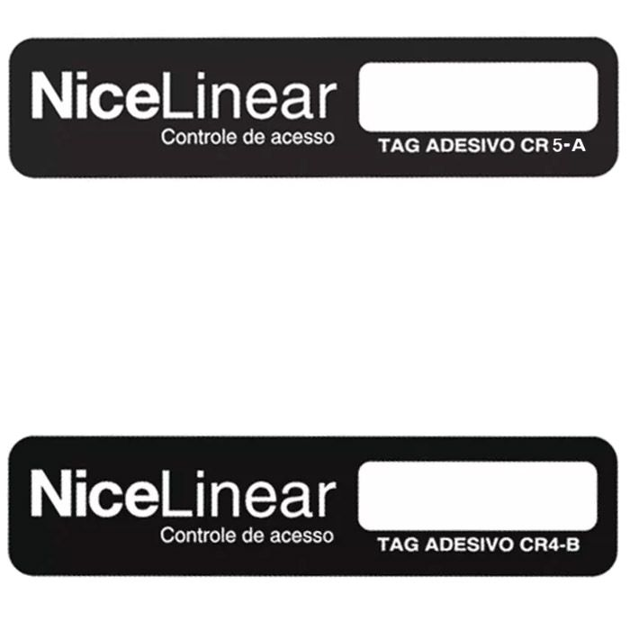 10pcs Tag Linear Original Adesivo Cr4 Hcs Etiqueta Sem Parar