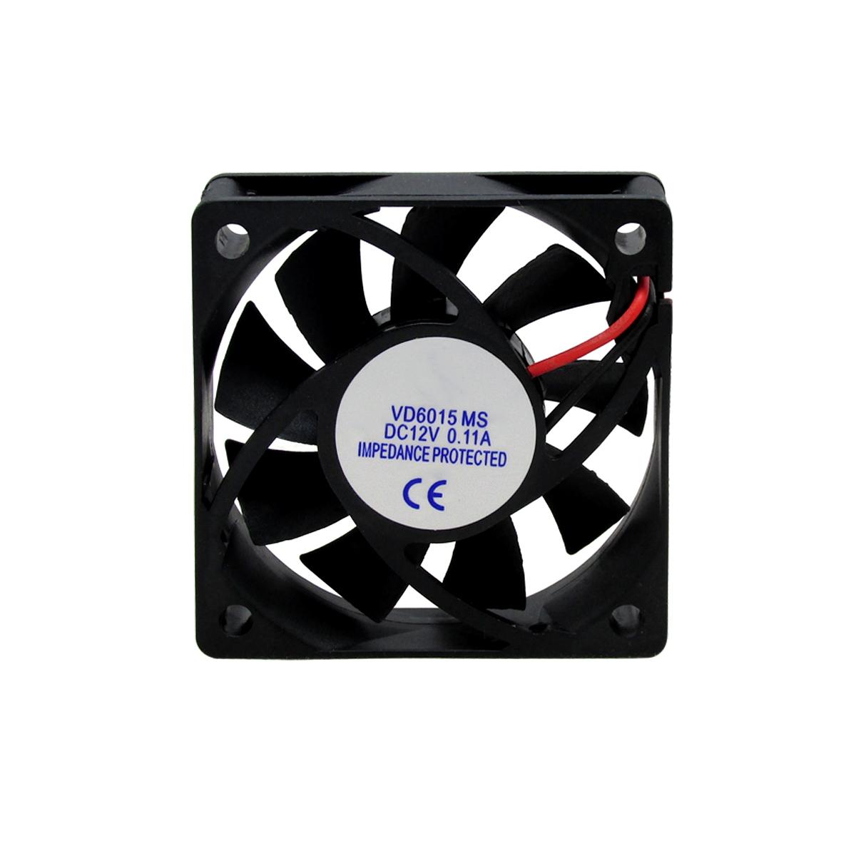 10pcs Ventilador Cooler Ventuinha Gc 60x60x15mm 12v Nova