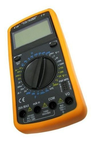Multimetro Digital De Mesa Gc 9205 Multimeter Medidor Novo