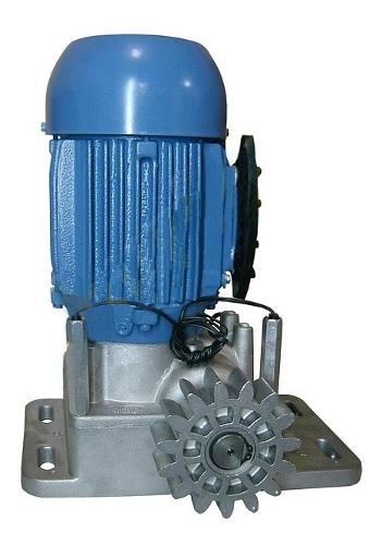 Kit Motor Portão Rossi Dzi 220 Deslizante Industrial 1200kg