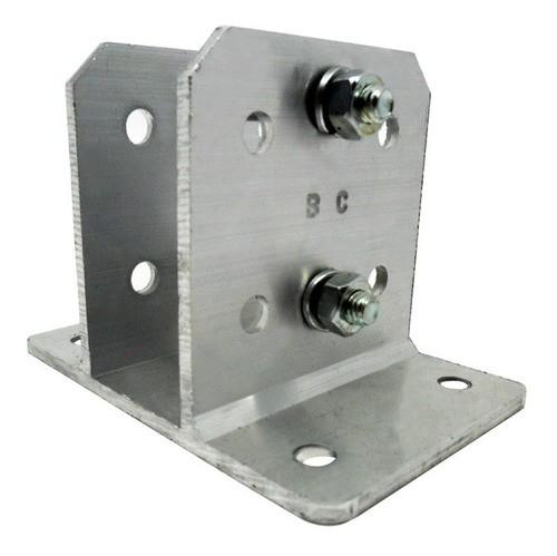 12pcs Haste Cerca Elétrica 23x23 1mt Industrial + Suporte