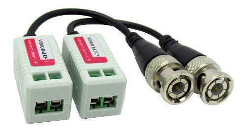 12pcs Video Balun Cameras Par Hd Ahd Cvi Tvi Ate 400mt Cftv