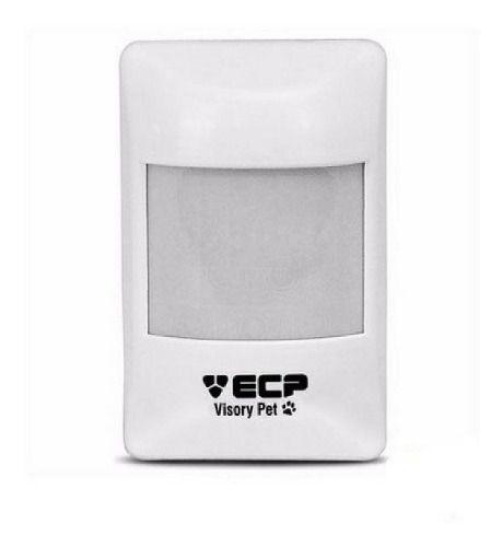 Sensor Alarme Ecp Ivp Pet Visory Com Fio Infra Presença