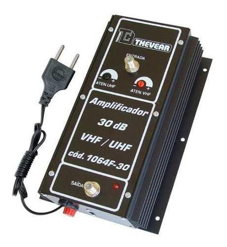 Amplificador Thevear Sinal Digital Coletivo 30db 106430 Hdtv