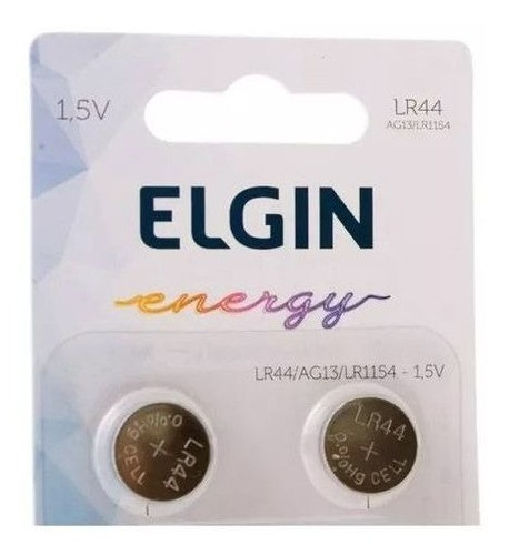 150pcs Bateria Lr44 Ag13 Lr1154 Elgin Pilha Alcalina Blister