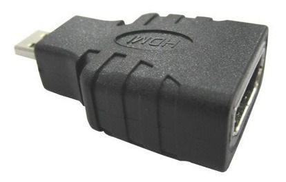 Adaptador Hdmi Para Micro Hdmi Mini Full Hd 1080p