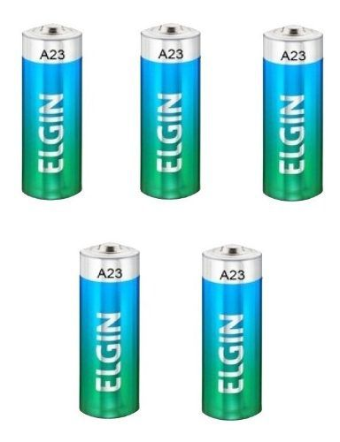 15pcs Pilha Bateria Elgin Original 12v A23 Controle Alarme