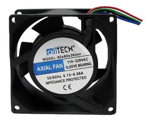 15pcs Ventilador Cooler Ventoinha Fan 80x80x38 Bivolt