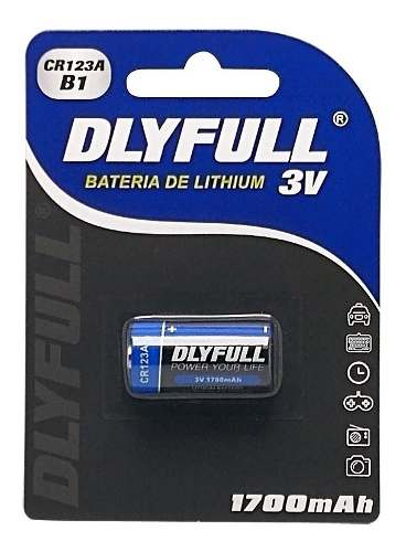 16pcs Bateria Pilha 3v Cr123a Original Cartela Blister