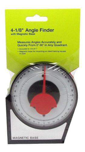 Inclinometro Base Magnetica Medidor Parabolica 90 Graus