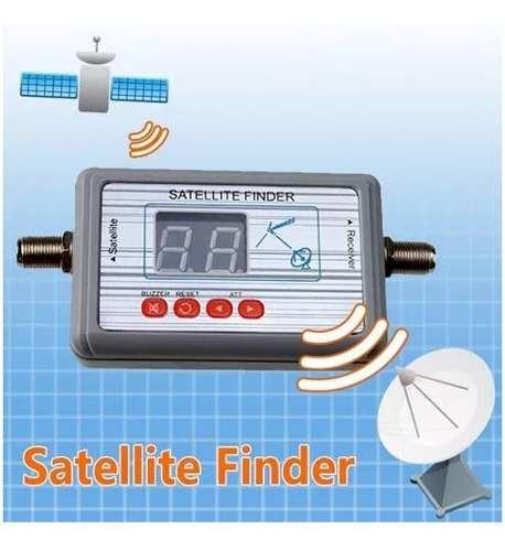 Satélite Finder Digital Localizador Parabólica Antenas Cabo