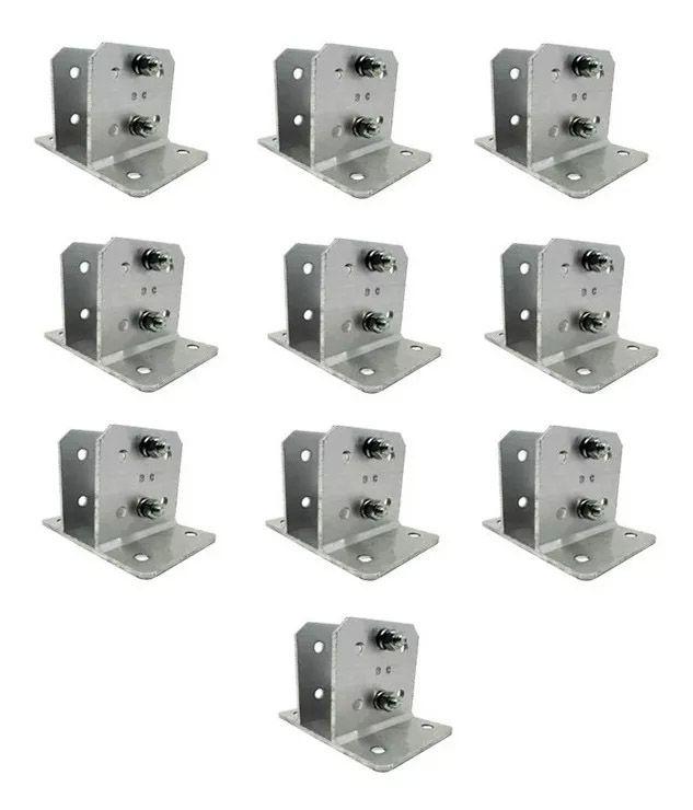 17pcs Suporte Alumínio P Haste Industrial E Big Haste 23x23