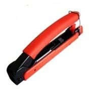 10pcs Alicate Crimpar Coaxial Rg6 Rg59 Bnc Compressao Blister