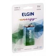 10pcs Bateria Elgin 9v Alcalina Pilha Original Blister