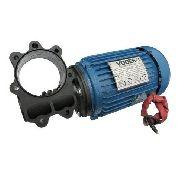 Motor Para Elevador De Carga, Motor Basculante, Motor Pivotante Aletado Alto Fluxo Rossi