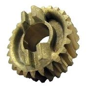 Coroa Peccinin Engrenagem Interna Bronze Gatter 25 Dentes