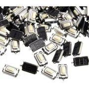 200pcs Botao Interruptor Smd Tactil Chave Controle Led