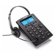 Telefone Headset Telemarketing Teclado Identificador Elgin