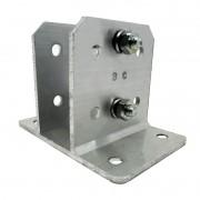 24pcs Suporte Alumínio Haste Industrial E Big Haste 25x25