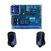 2pcs Controle Remoto Motor + Central Dupla Mkn