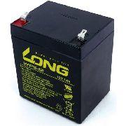 Bateria 12v 5ah Long Nobreak Sms Apc Original Wp5-12 Nova