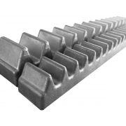 3pcs Gomo Peccinin Aluminio Dz Gatter Light Super Original Para Cremalheira 30cm 03 Unidades De 30cm Total 0,90cm